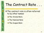 the contract rate1