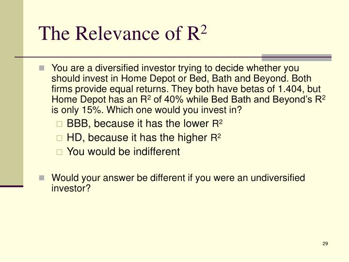 The Relevance of R