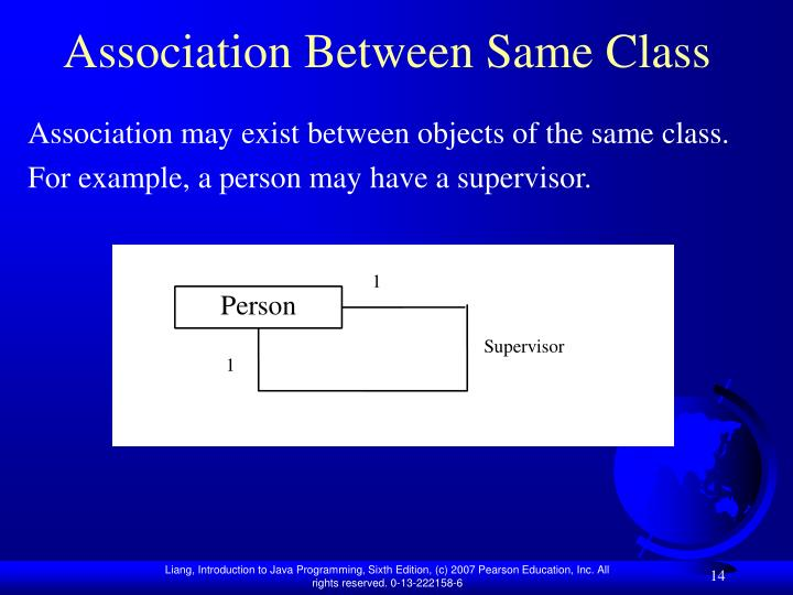 Association Between Same Class