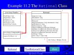 example 11 2 the rational class