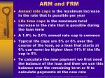 arm and frm1