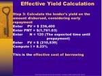 effective yield calculation1