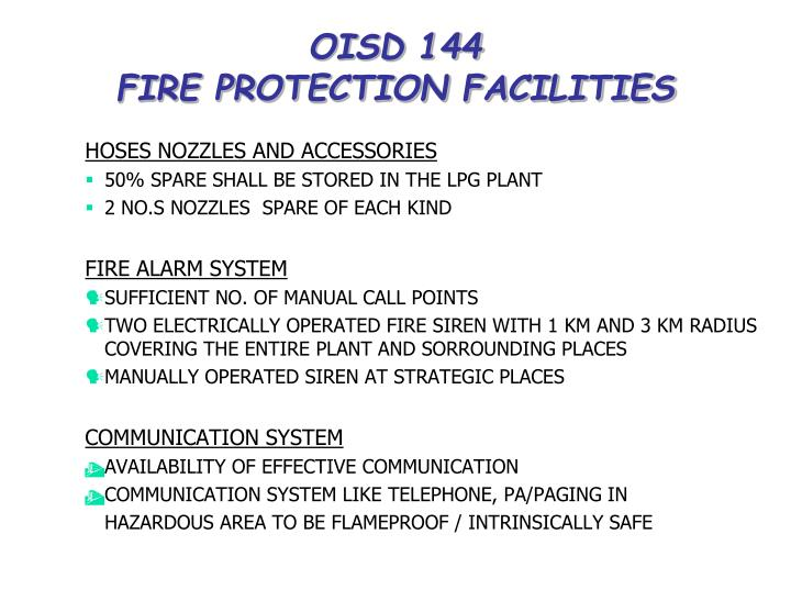 OISD 144
