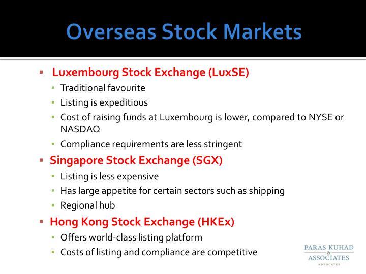 Overseas Stock Markets