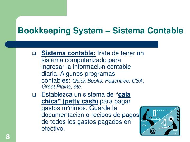 Bookkeeping System – Sistema Contable