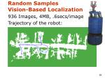 random samples vision based localization