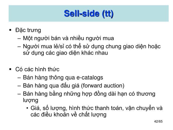 Sell-side (tt)