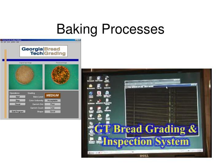 Baking Processes