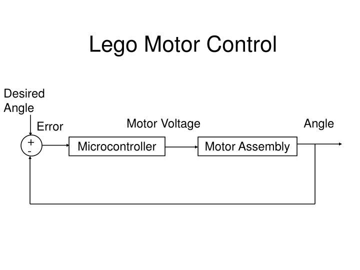 Lego Motor Control