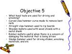 objective 5