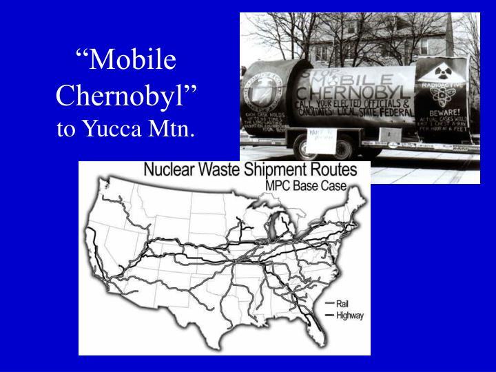 """Mobile Chernobyl"""
