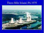 three mile island pa 1979