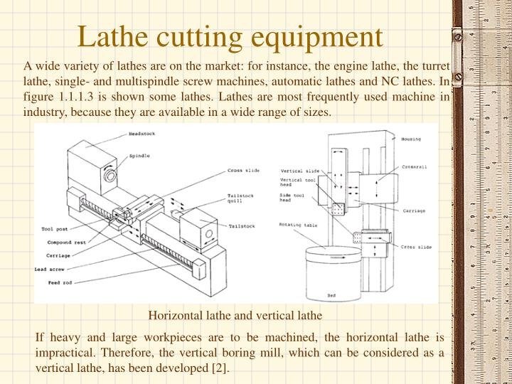 Lathe cutting equipment