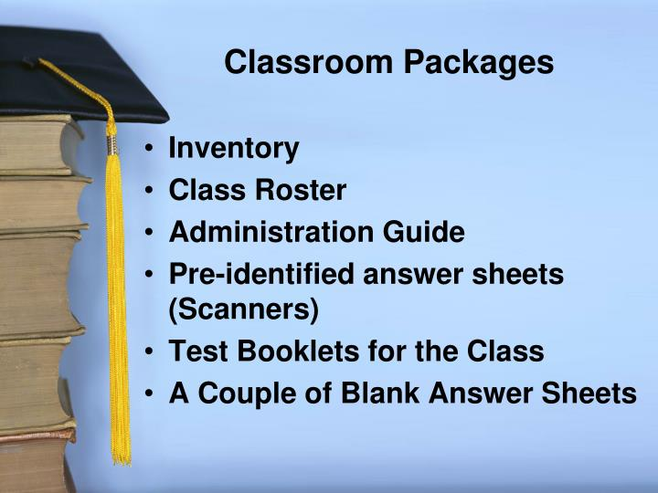 Classroom Packages