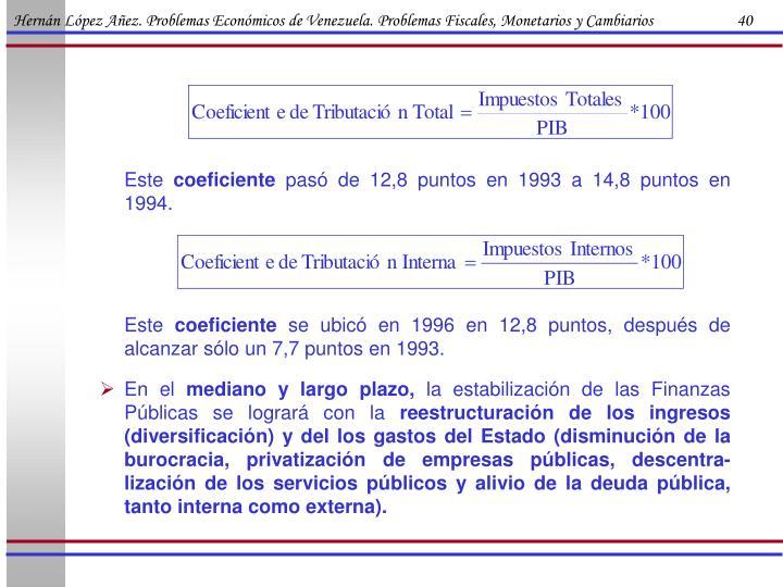 Hernán López Añez. Problemas Económicos de Venezuela. Problemas Fiscales, Monetarios y Cambiarios                      40