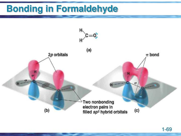 Bonding in Formaldehyde