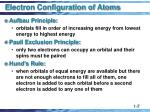 electron configuration of atoms2
