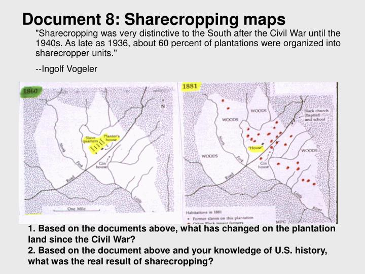 Document 8: Sharecropping maps