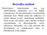 bezredka method1
