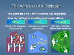 the wireless lan explosion