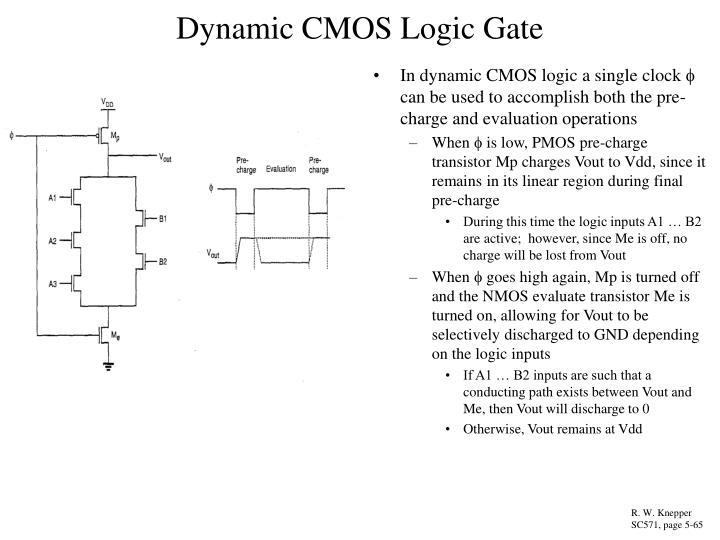 Dynamic CMOS Logic Gate