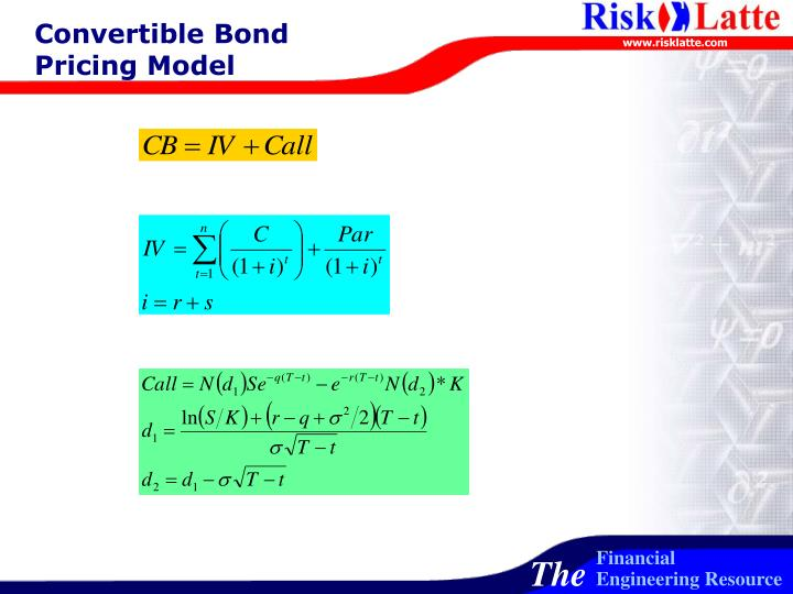 Convertible Bond Pricing Model