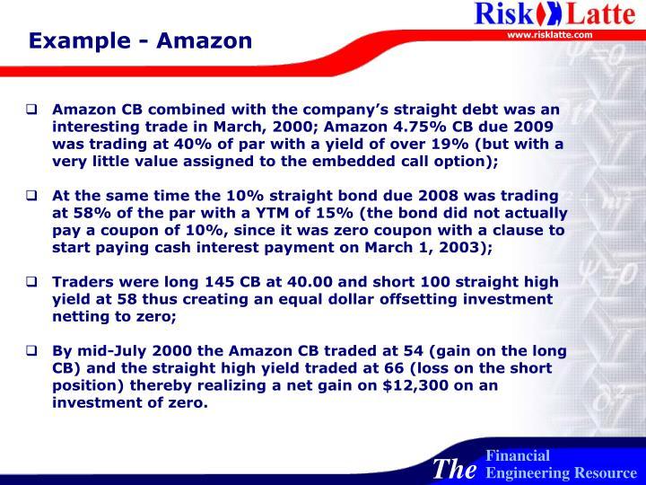 Example - Amazon