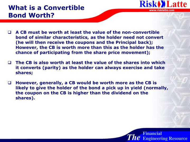 What is a Convertible Bond Worth?