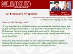 an employer s perspective1