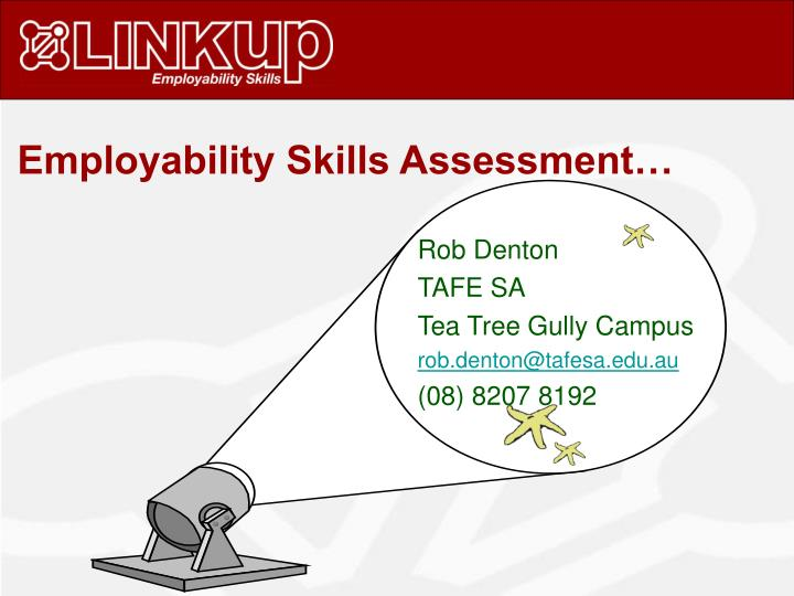 Employability Skills Assessment…