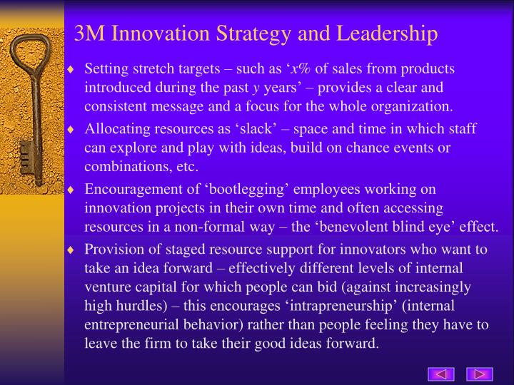 3M Innovation Strategy and Leadership