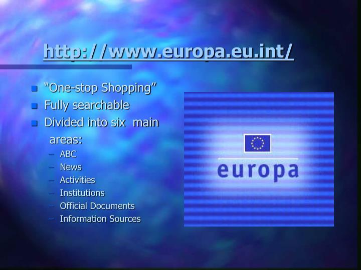 http://www.europa.eu.int/