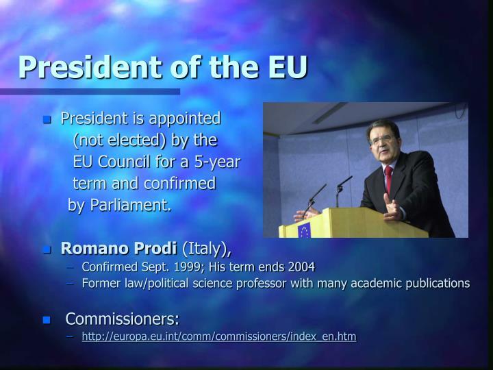 President of the EU