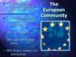 the european community
