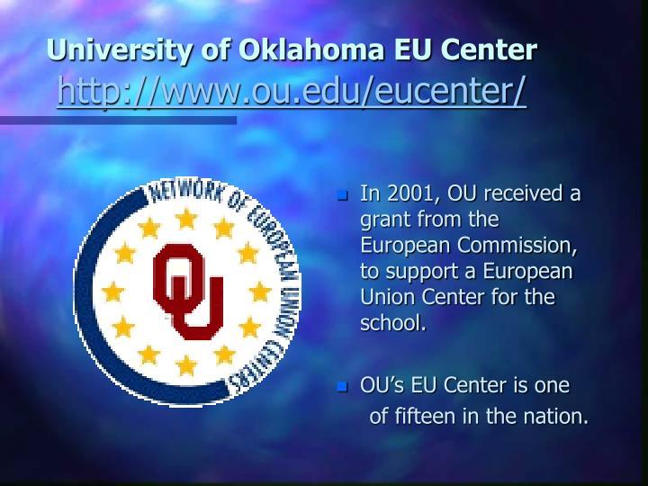 University of Oklahoma EU Center