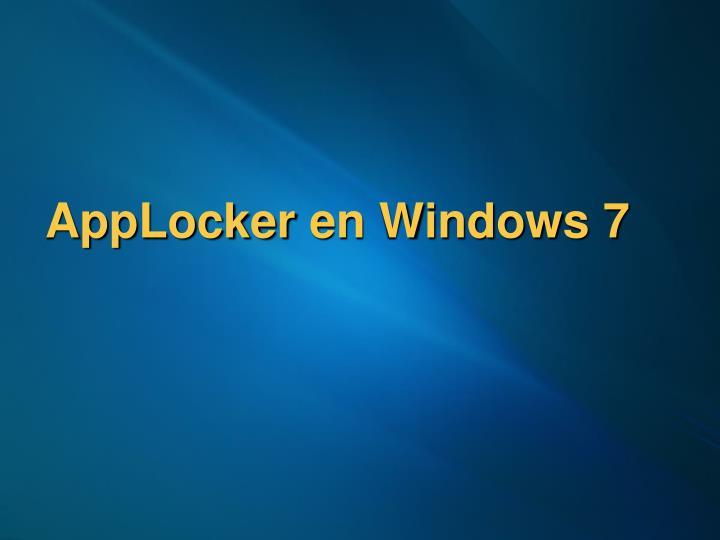 AppLocker