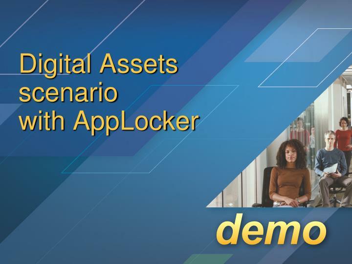 Digital Assets scenario