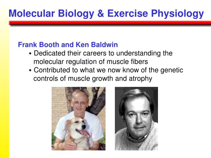 Molecular Biology & Exercise Physiology
