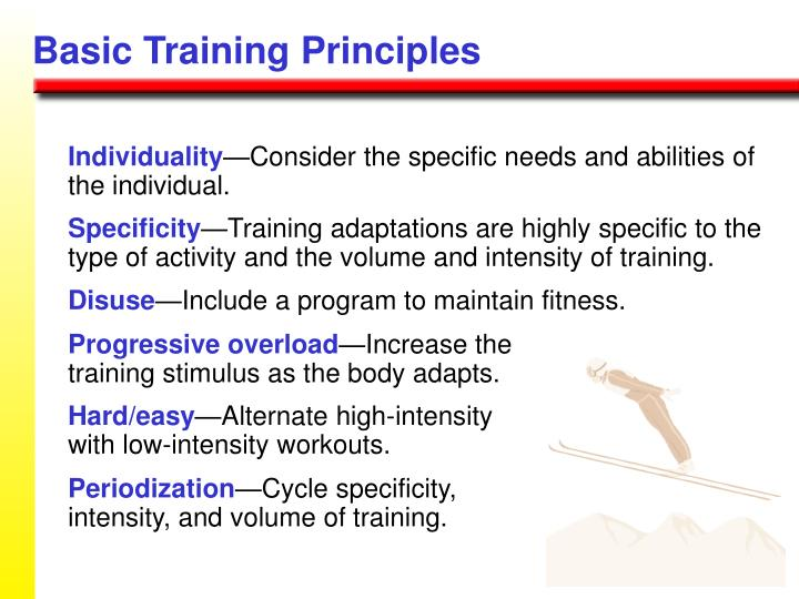 Basic Training Principles