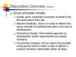 description overview cont