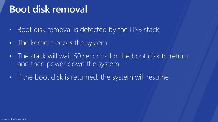 Boot disk