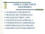 china comunista mao smo
