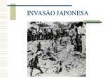 invas o japonesa