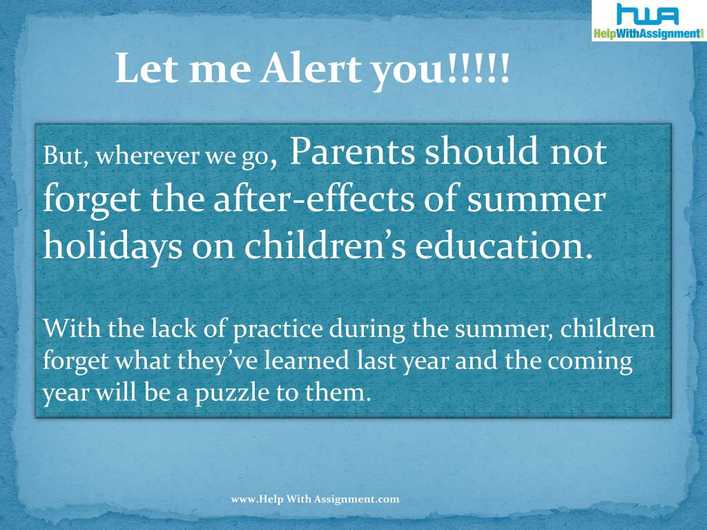 Let me Alert you!!!!!