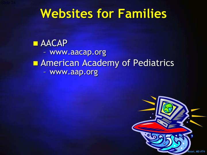 Websites for Families