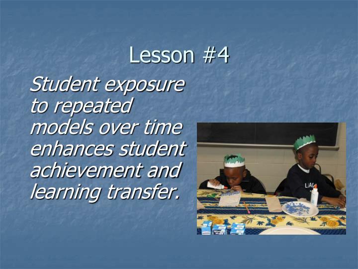 Lesson #4