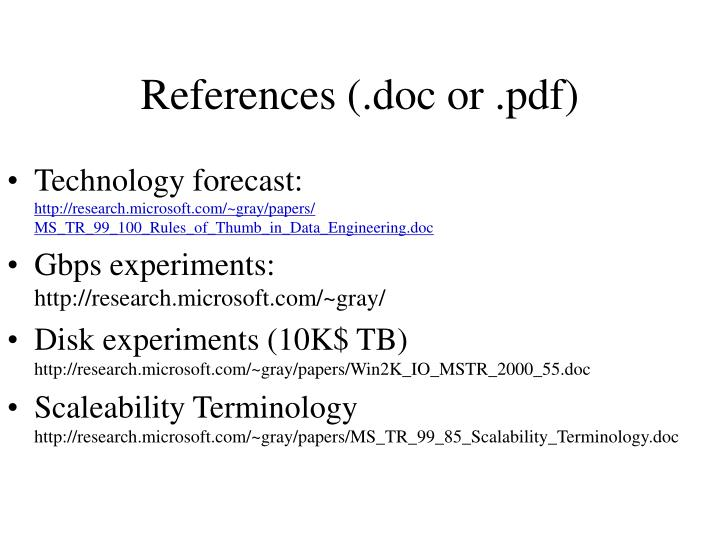 References (.doc or .pdf)