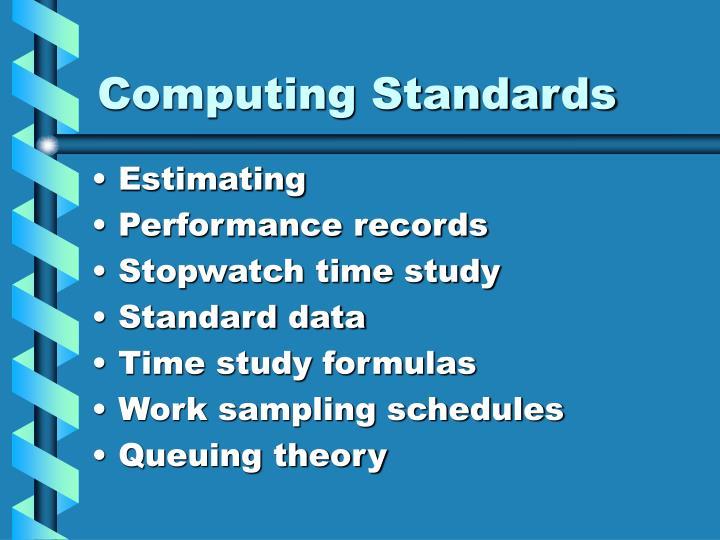 Computing Standards