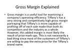 gross margin explained