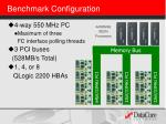 benchmark configuration